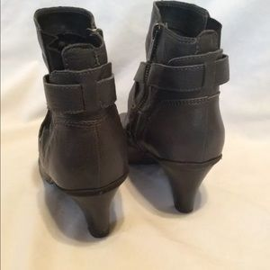 Kenneth Cole Reaction Shoes - Kenneth Cole Reaction Ankle Boots Gray Leather